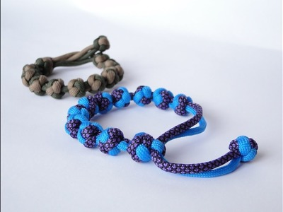 How to Make the Diamonds Paracord Bracelet-Adjustable Mad Max Style