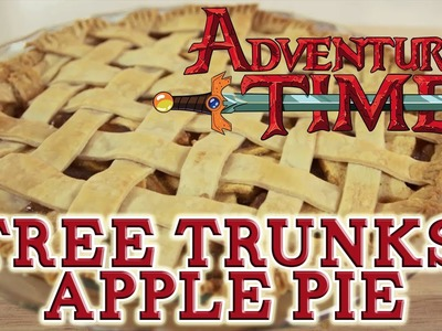 How to make TREE TRUNKS' APPLE PIE from Adventure Time! Feast of Fiction S2 Ep17