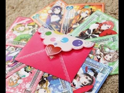 How to make UR Love Live School Idol Festival Envelopes