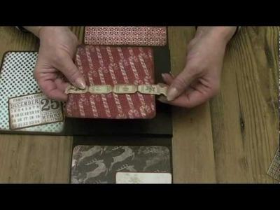 """Lets Make"" Series 2 part 2 Large Christmas Wallet Photo Album"