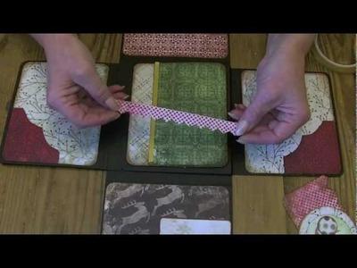 """Lets Make""  Series 2 part 3 - Large Christmas Wallet Photo Album"