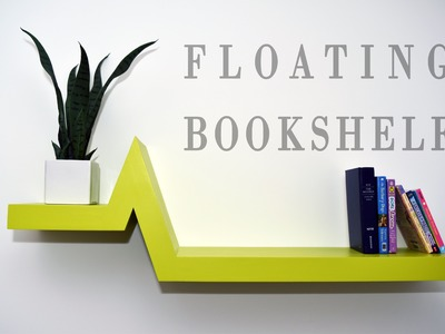 Make A Floating Bookshelf