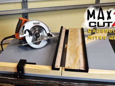 Making Circular Saw Crosscut & Miter Jig The MAX CUT 2    Limited Tools Episode 003
