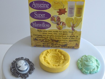 Making Your Own Silicone Fondant Molds with Amazing Mold Putty for Cakes and Cupcakes!!!