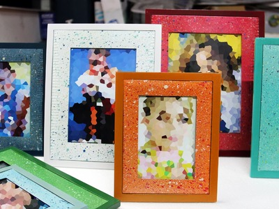 Repainting Old Photo Frame Technique