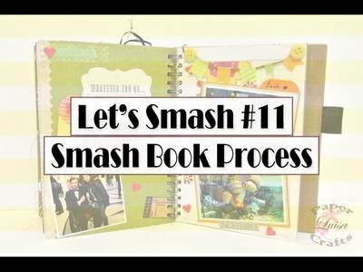 SMASH BOOK paso a paso Vacaciones página 11 | Luisa PaperCrafts