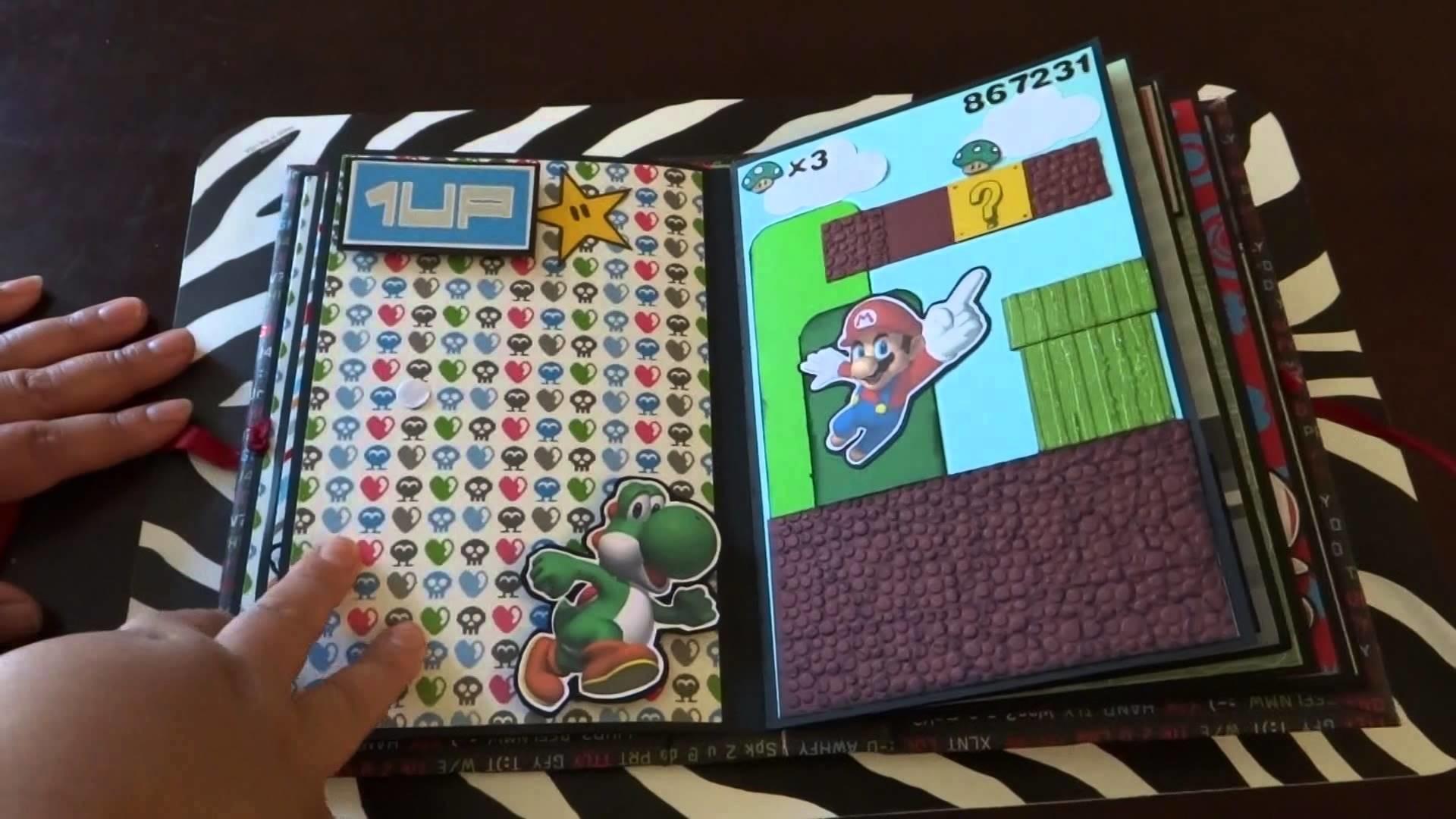 """""""Super Mario Bros"""" Mini Album!!"""