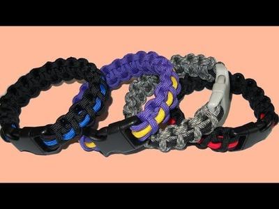 Thin Line Cobra Weave Bracelet - Seamless without Burns