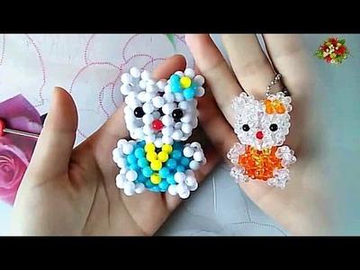 水晶串珠 動漫類飾品 KT貓 (款式1) 3.3
