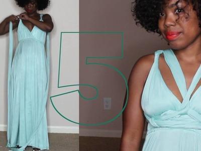 10 Ways To Style an Infinity Dress