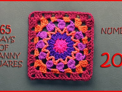 365 Days of Granny Squares Number 207