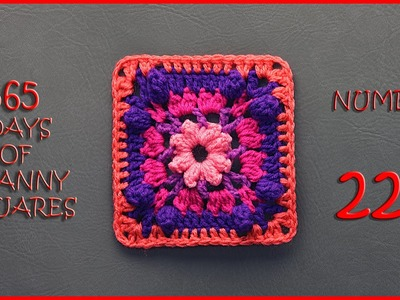 365 Days of Granny Squares Number 221