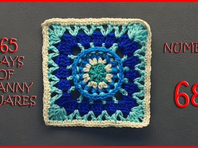 365 Days of Granny Squares Number 68