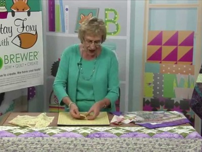 All Star Quilt with Eleanor Burns Quilt In A Day
