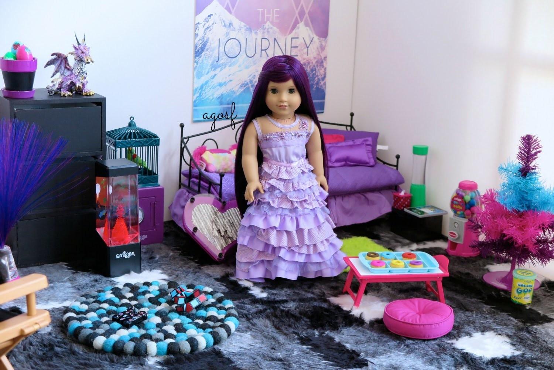 Cool American Girl Doll Disney Descendants Mals Bedroom Hd Download Free Architecture Designs Grimeyleaguecom