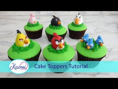 Angry Birds cupcakes (part 1). Cupcakes de los Angry Birds (parte 1)
