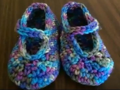 Baby's First MaryJane Booties Size 6-9 Months YarnWars