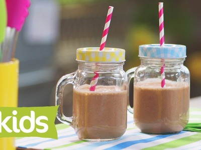 Banana, Cacao & Almond Milk Smoothie Recipe - As seen on The Voice Kids