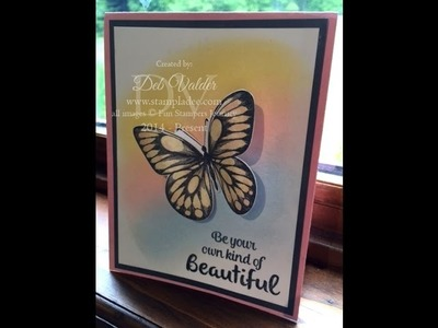 Beautiful Wings and PanPastels with Deb Valder