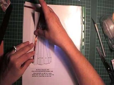 Corner Fold Fancy Dress Tutorial part 1