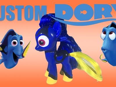 Custom FINDING DORY MLP My Little Pony Tutorial