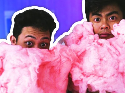 DIY GIANT COTTON CANDY!