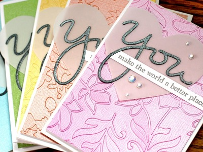 Easy Die Cut Inlay Backgrounds