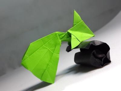 Easy Origami Goldfish tutorial (Henry Phạm)