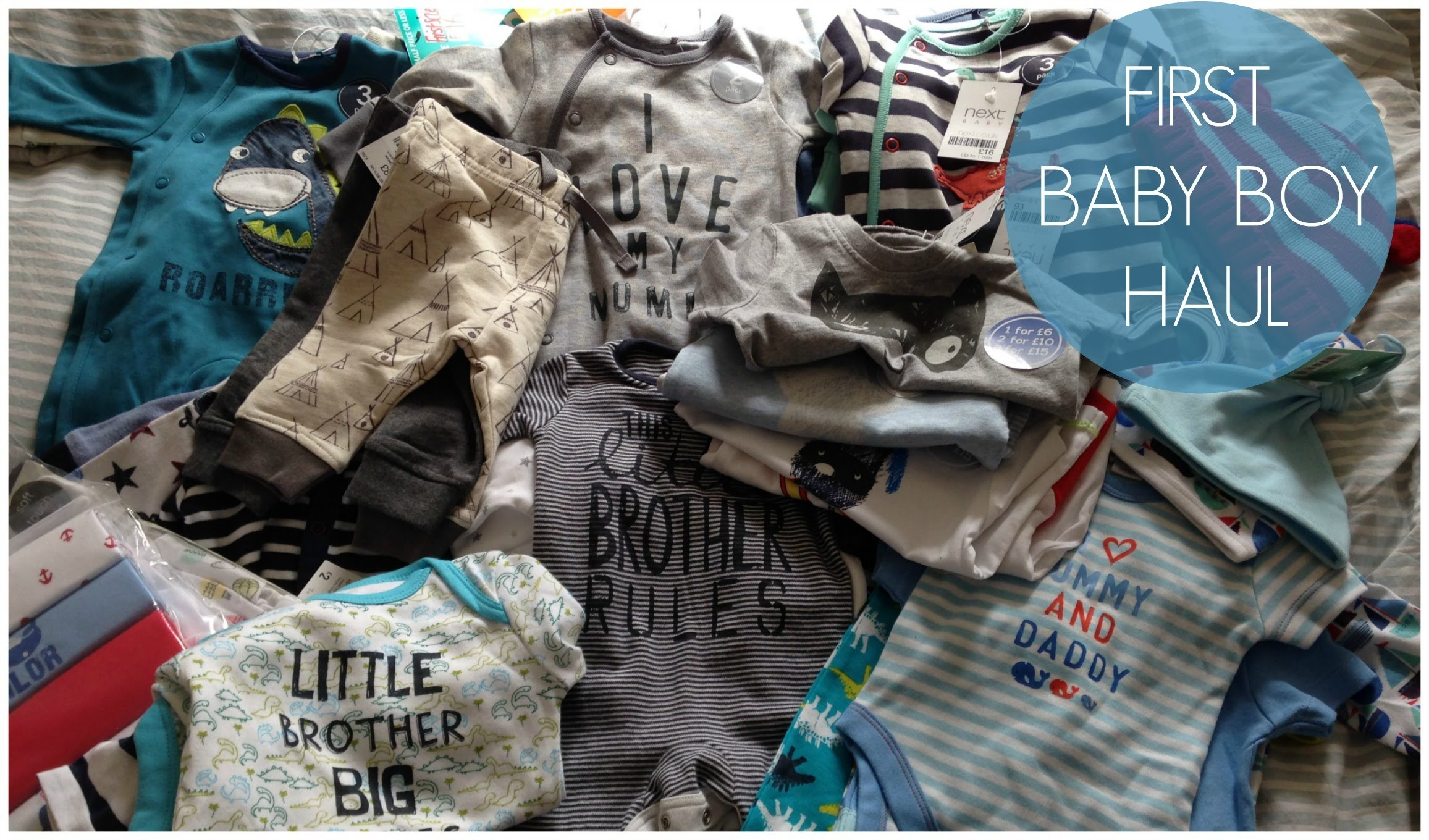 8600be1a7992 First Baby Boy Clothes Haul!