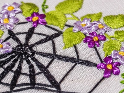 Hand Stitching | Embroidery Pattern by Hand  | HandiWorks #64