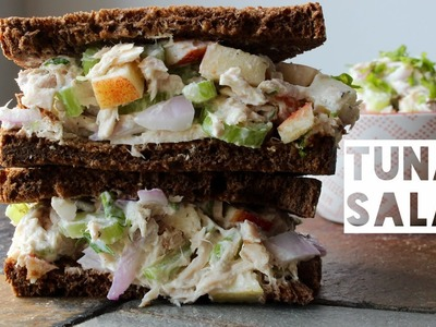 Healthy Tuna Salad Recipe | How To Make  A Low Calorie Low Fat High Protein Tuna Salad