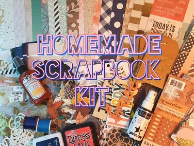 Homemade Scrapbook Kit: Fall 2015
