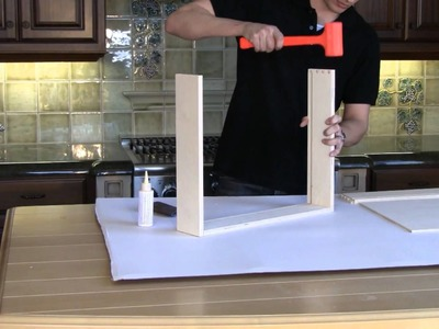 How to assemble dovetail drawer boxes