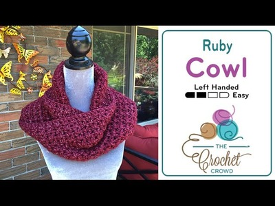 How to Crochet A Cowl: Infinity Cowl