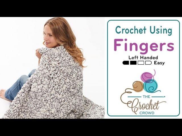 How to Finger Crochet an Afghan