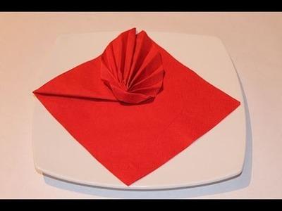 How to Fold a Napkin - Leaf