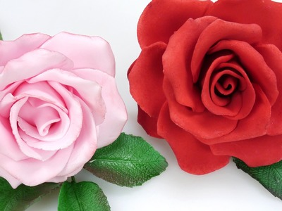 How To Make A Beautiful Sugar Rose