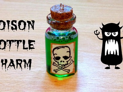 How to Make a Poison Miniature Bottle Charm