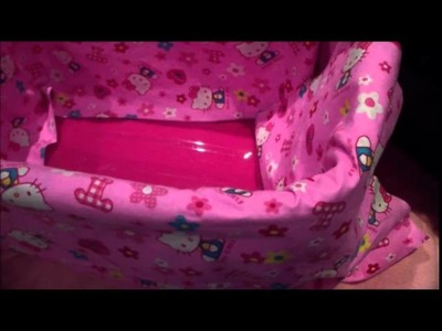 How to make a Reborn baby bed out of a washing basket