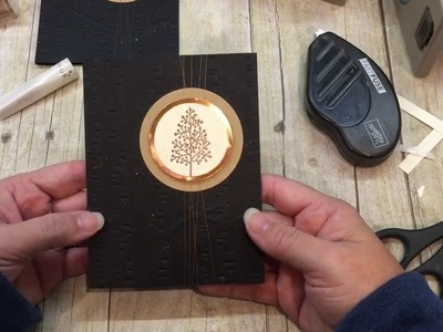 How to make a stunning Totally Trees Black and Copper Card