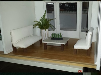 How to make Doll Leather Couches