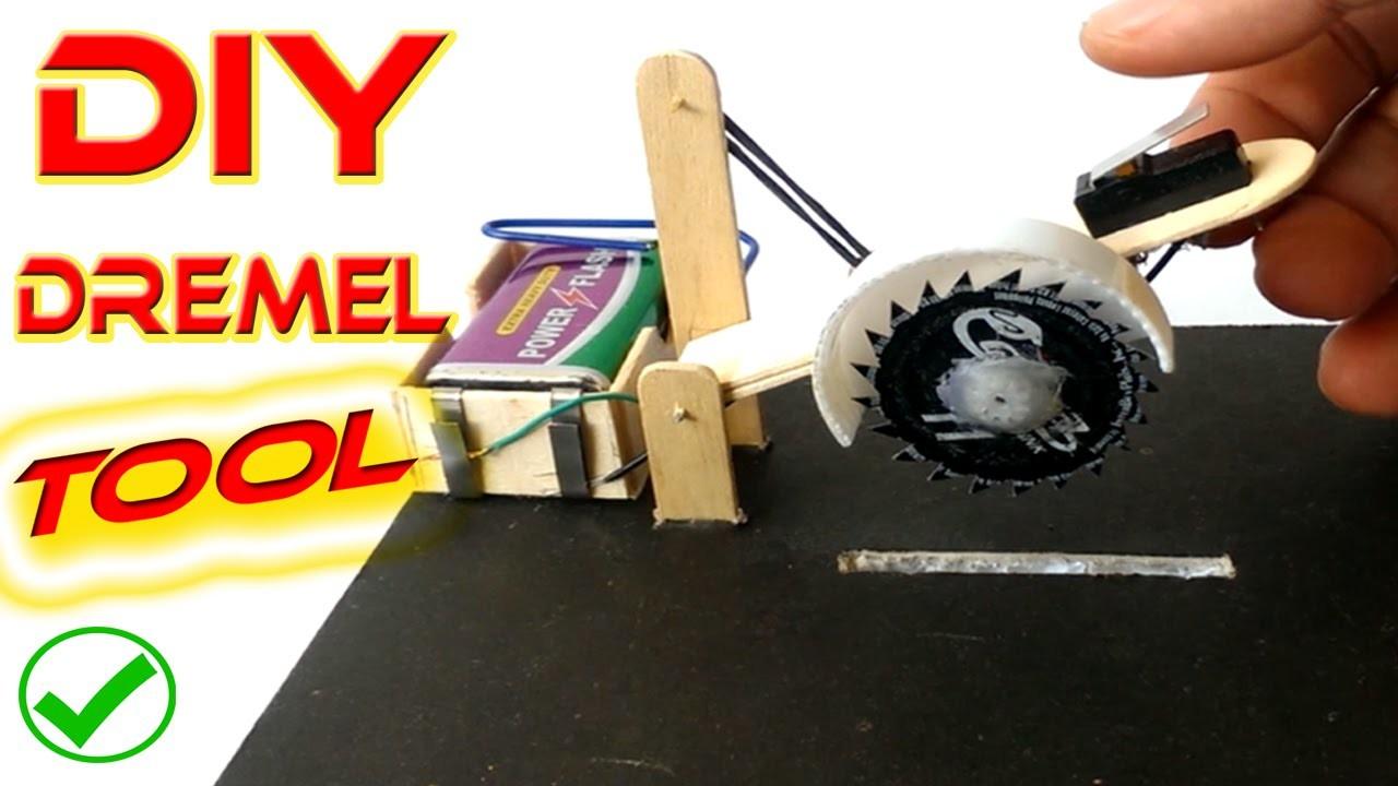 How to make mini Dremel Tool