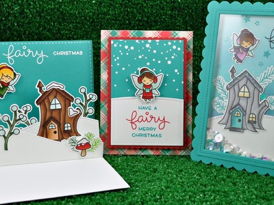 Intro to Frosty Fairy Friends + 4 cards from start to finish