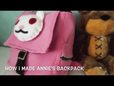 League of Legends Annie cosplay - backpack work progress