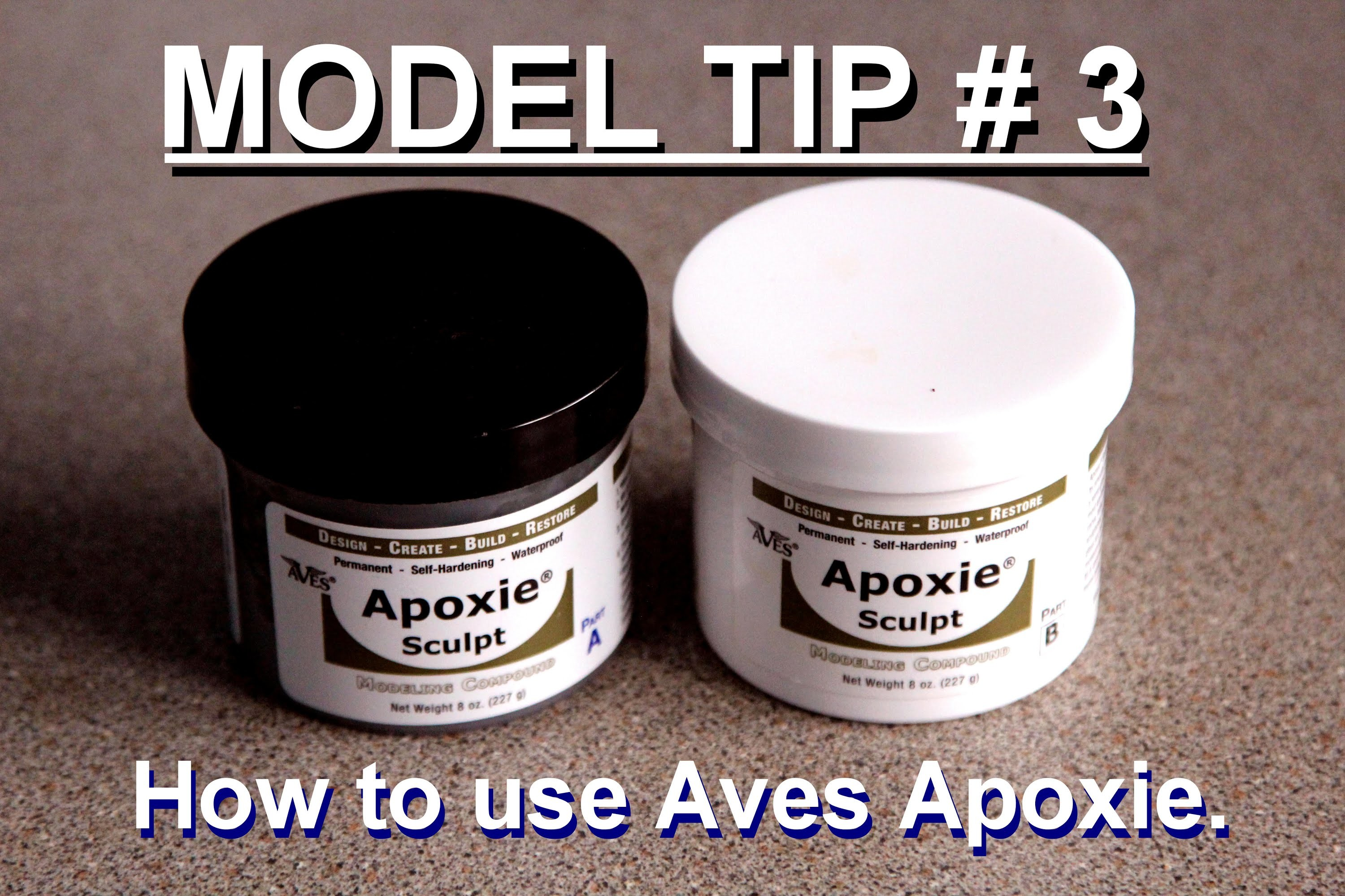Modelling Tip # 3 How to use Aves Apoxie