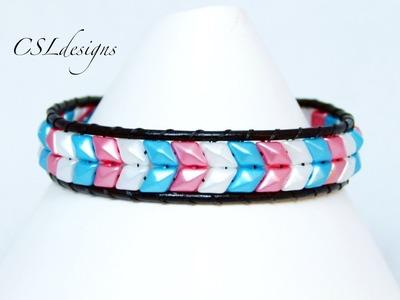 Snake skin wrap bracelet