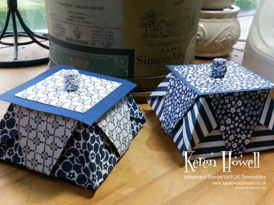 Stampin' Up! Origami Star box