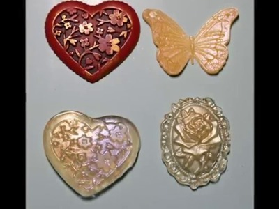 Swirlydoos Saturday Tutorial: Making your own embellishments with molds