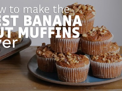 The Best Banana Nut Muffins Ever (And They Are Healthy!)