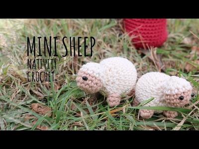 Tutorial Mini Sheep Amigurumi (Nativity)